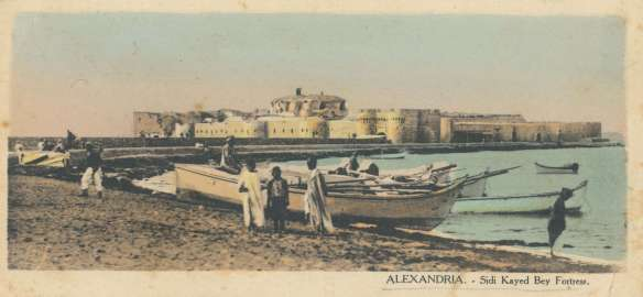 Postcard of Alexandria, Egypt, c1915