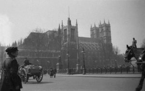 Westminster Abbey, 1918