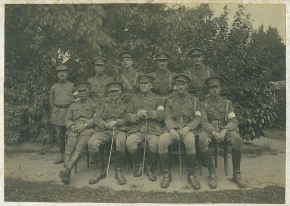 Men from the 58th Brigade of the 19th Division of the Royal Army Medical Corps